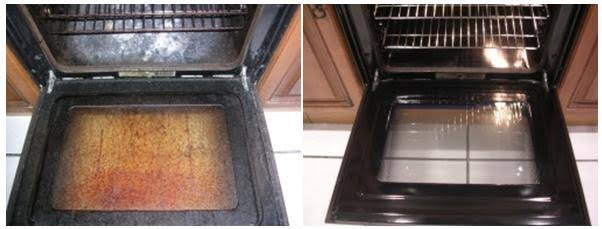 Before and After_Oven