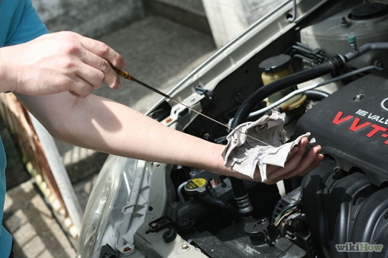 Checking your engine oil is important, especially if you don't want to have to replace it!