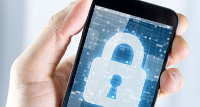 Locked padlock on a smartphone app is representative of CanYa's security with data
