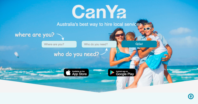 CanYa_Web App_Sneak Peak