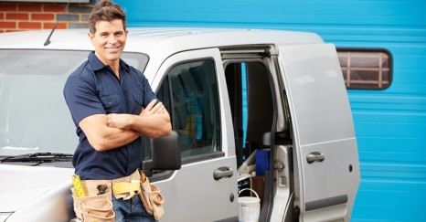 A CanYa handyman about the get to work on a job he got from Australia's easiest way to hire local service providers