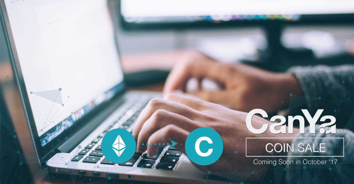 CanYa is releasing the CanYaCoin or CAN token in October 2017