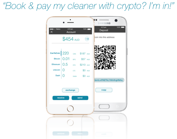 CanYa is a stable platform that will soon encorporate CanYaCoin so you can pay your cleaner with crypto!