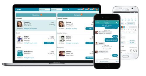 CanYa is a mature services app that is available on the internet via your laptop or on your Android and Apple iPhone.