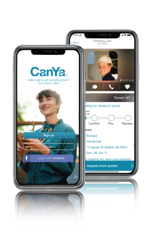 CanYa is the world's first true P2P services marketplace that lets you get found, book, and paid with cryptocurrency anywhere in the world