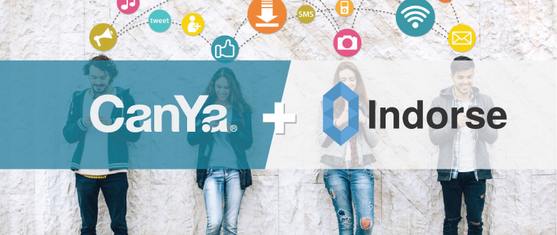 CanYa & Indorse – Official Partnership
