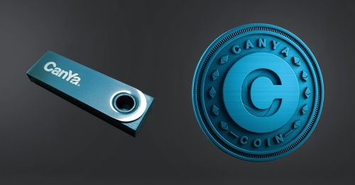 CanYa Dolphin Tier prizes include the CanYa Branded Ledger Nano S and the Limited Edition minted CanYaCoin