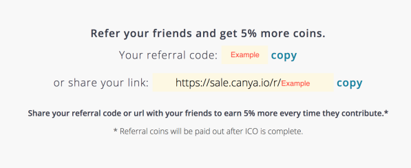 CAN ICO referral to get 5% more CAN tokens
