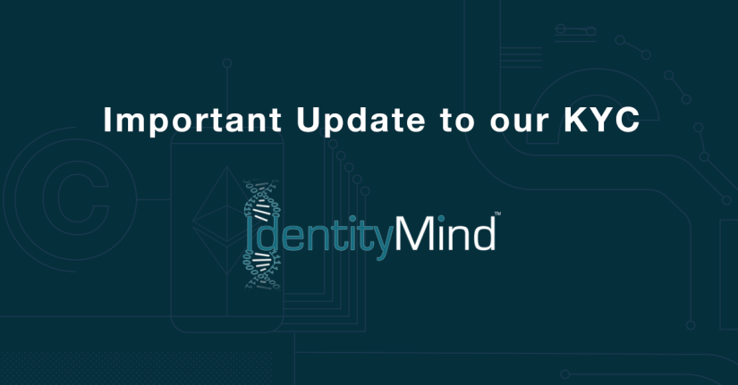 Important update to our KYC