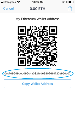 Wallet address trust ethereum