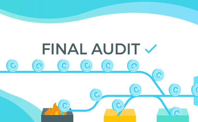 Final audit complete – tokens sent to the assetcontract!