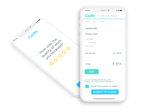 CanYa 2.0 that will include payment and reviews