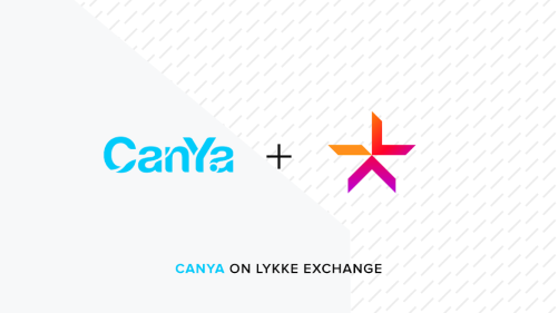 CanYaCoin is on Lykke exchange right now