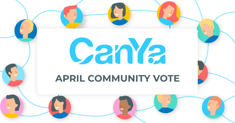 April Community Vote: Help Allocate the CanYaCoin Charity Pool!